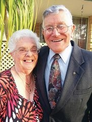 Zena and Jack Brody will celebrate their 60th wedding anniversary this Saturday.