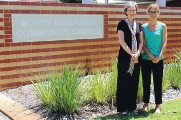 Senior lecturer Caroline Fleay and lecturer Lisa Hartley from Curtin University's Centre for Human Rights.