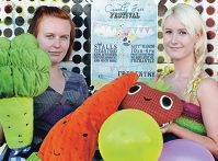 Animal Rights advocates Jen Perry and Nadia Schilling are looking forward to the festival.