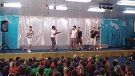 The Magnets perform at |Creaney Primary School.