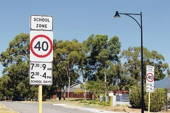 Motorists are reminded to abide by the 40km/h school zones. d414847