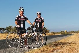 Debbi Tomilson and Candy Griffiths regularly cycle Perry Road.