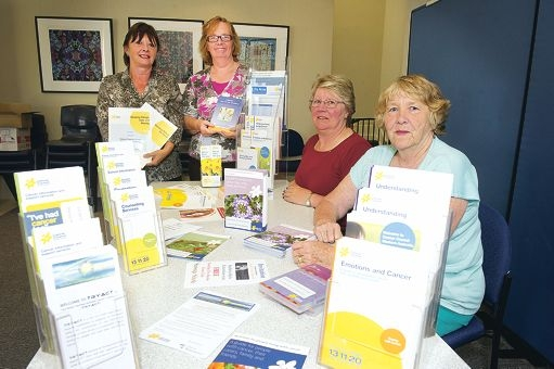 Sue Dash, Jayne Senior, Jo Holding and Ann Bishop are starting a Cancer Support Group.