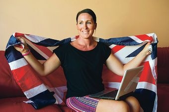 Nicola Gilbert formed Facebook group Mandurah Poms for migrants living locally.