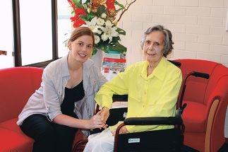 Big honour for nursing student mentor