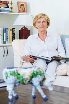 Barbara Godwin has had a lifelong commitment to education and the church. www.communitypix.com.au d414325