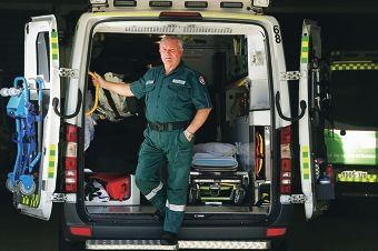"""Peter """"Monty"""" Montgomery will be awarded a Ambulance Service Medal in the Australia Day honours. Picture: Emma Reeves d413998"""