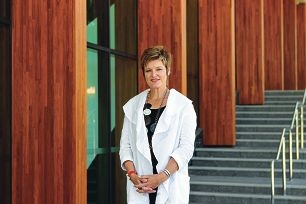 All Saints College principal Belinda Provis. Picture: Martin Kennealey d413750
