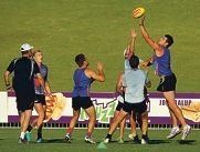 West Perth training at Arena Joondalup earlier this month.