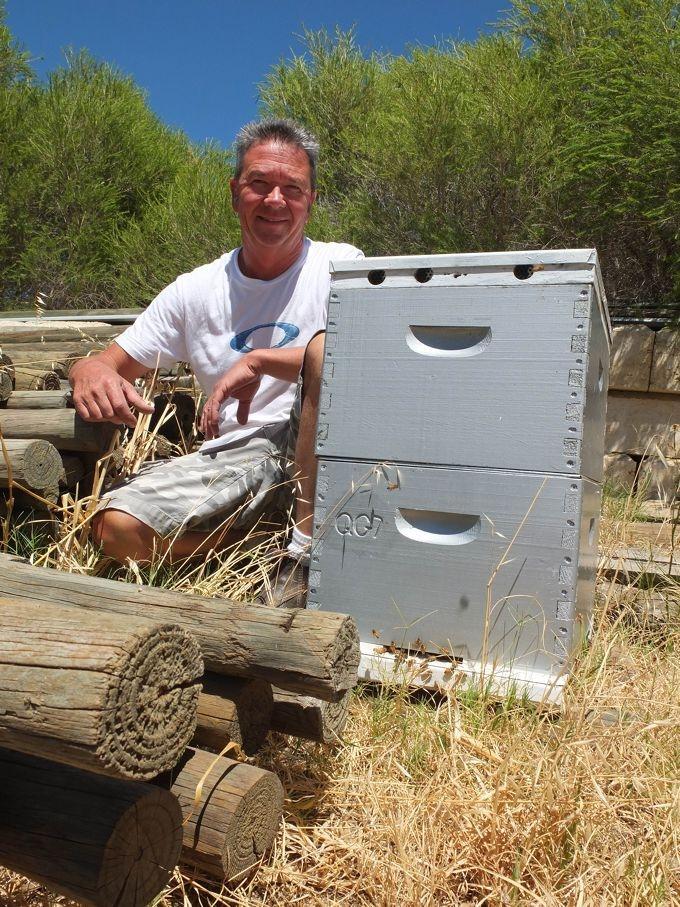 Swan Valley beekeeper Rupert Phillips.