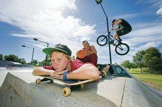 Zac Rule, Keegan Watt and Mitchell Morris. Picture: Emma Reeves d413745