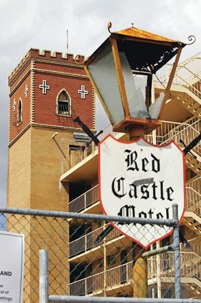 The Red Castle Motel site will be redeveloped.