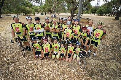 Members of Northern Beaches Cycling Club are preparing for the second criterium event in Yanchep National Park.