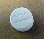 One of the pills confiscated: White Batman.