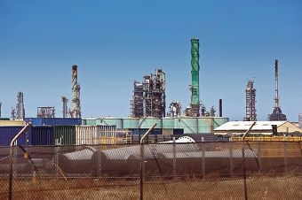 The BP Refinery at Kwinana. Picture: Louise White www.communitypix.com.au d413551