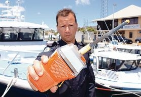 Snr Const Brad Bell has reminded boat skippers that they always need to have an EPIRB aboard.