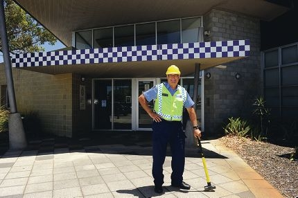 Morley Police Station officer-in-charge Senior Sergeant David Hooper. Picture: Marcus Whisson d413270