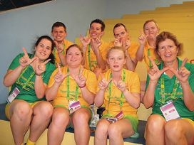 Special effort by Olympians