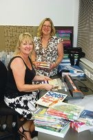 Carolyn Ransom and Sue Mikkelsen cover books.d412694