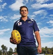 Former Docker Byron Schammer will coach Collegians this year.