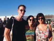 Tom Riordan, Portia Odell and Simone Van Hattem.