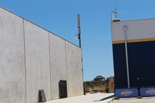 A phone tower was installed at 109 Winton Road in 2003.