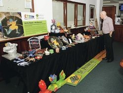A selection of the items made by clients of St Patrick's Community Support Centre.
