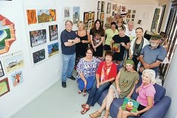 Joondalup Community Arts Association members are holding a |Christmas art market.Picture: Emma Reeves d412166