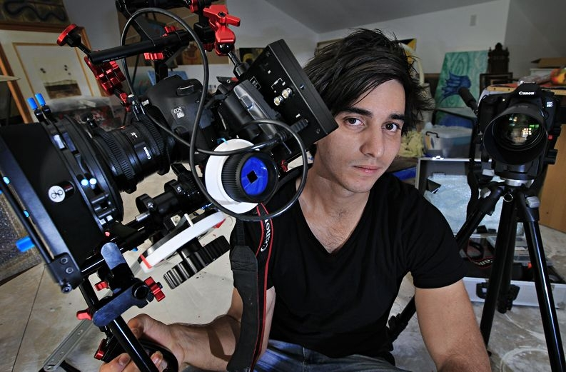 Ruben Pracas's film Revive will go before the judges at Tropfest. Picture: Elle Borgward www.communitypix.com.au d412225