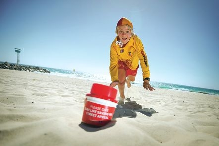 Collector Josh Leaman (13) from City of Perth Surf Life Saving Club. Picture: Andrew Ritchie d412090