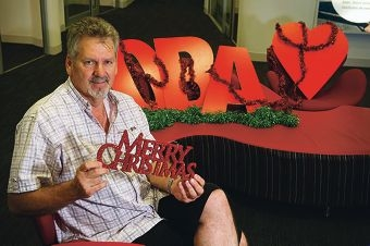 Blood donor Martin Bakker. Picture: Emma Reeves www.communitypix.com.au d411761