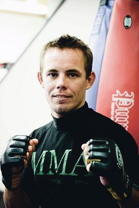 Martial artist Ryan Robertson