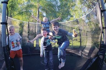 Parents are urged to follow a safety checklist when allowing children to use a trampoline.