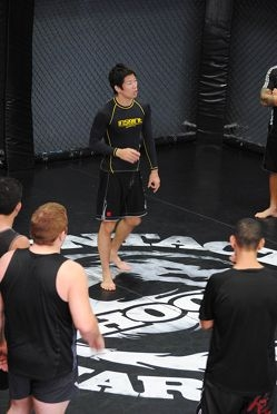 Champion Hioki helps give locals a fighting chance