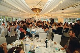 White Christmas gala fundraising dinner at Joondalup Resort.