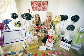 Clare Fitchett-Banks and Elaine Taylor recently started a chocolate tree business.|Picture: Emma Reeves www.communitypix.com.au d410814