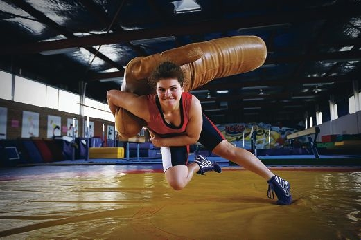 Karina Durko won gold at her first national competition recently. Picture: Andrew Ritchie www.communitypix.com.au d410270