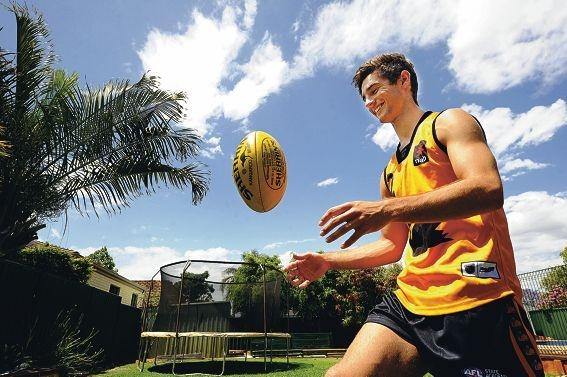 Footballer Shayne Hille. Picture: Marcus Whisson www.communitypix.com.au d411711