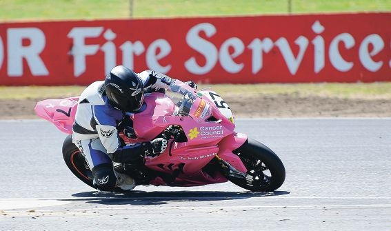 Cameron Stronach in action at Barbagallo Raceway. Picture: Innesphotografix