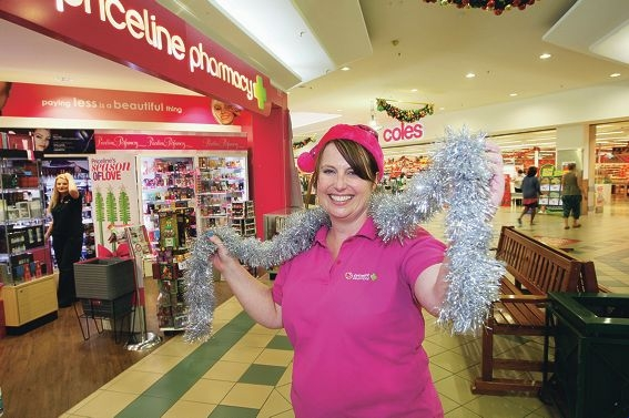 iceline Kalamunda Manager Sally Harrison is looking forward to opening from 8am on the three Sundays before Christmas. Picture: Bruce Hunt www.communitypix.com.au d411713