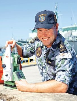 Able Seaman Roek Dyer will spend Christmas in Antarctica.