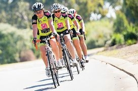 The Northern Beaches 'Affogatos' team at the Margaret River tour. Picture: Tony Lendrum Photography.