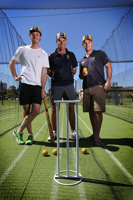 Ashton Turner, Mickey Arthur & Jim Allenby three cricketing greats with links to Christ Church Grammar School