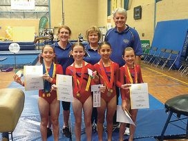 Club team impresses at state championships