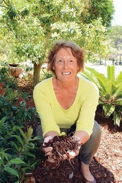 A rich layer of mulch is one of the big secrets of Philippa Beach's Garden of the Year.