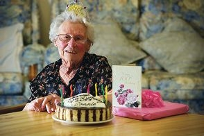 A party at the Quinns Rocks Adult Day Centre was just one of the celebrations for Connie Brewer's 100th birthday.