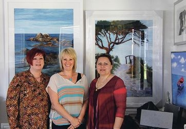 Kaleidoscope trio Penelope Barrow, Ann Steer and Ljubica Ratz are hosting an exhibition of their works at the Wanneroo Library and Cultural Centre .