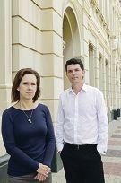 Fremantle MLA Simone McGurk and Greens Senator Scott |Ludlam. d410757