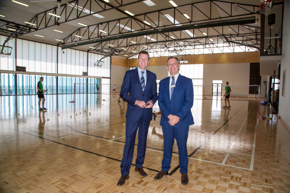 Peter Moyes Anglican School opens new $7.1m gym