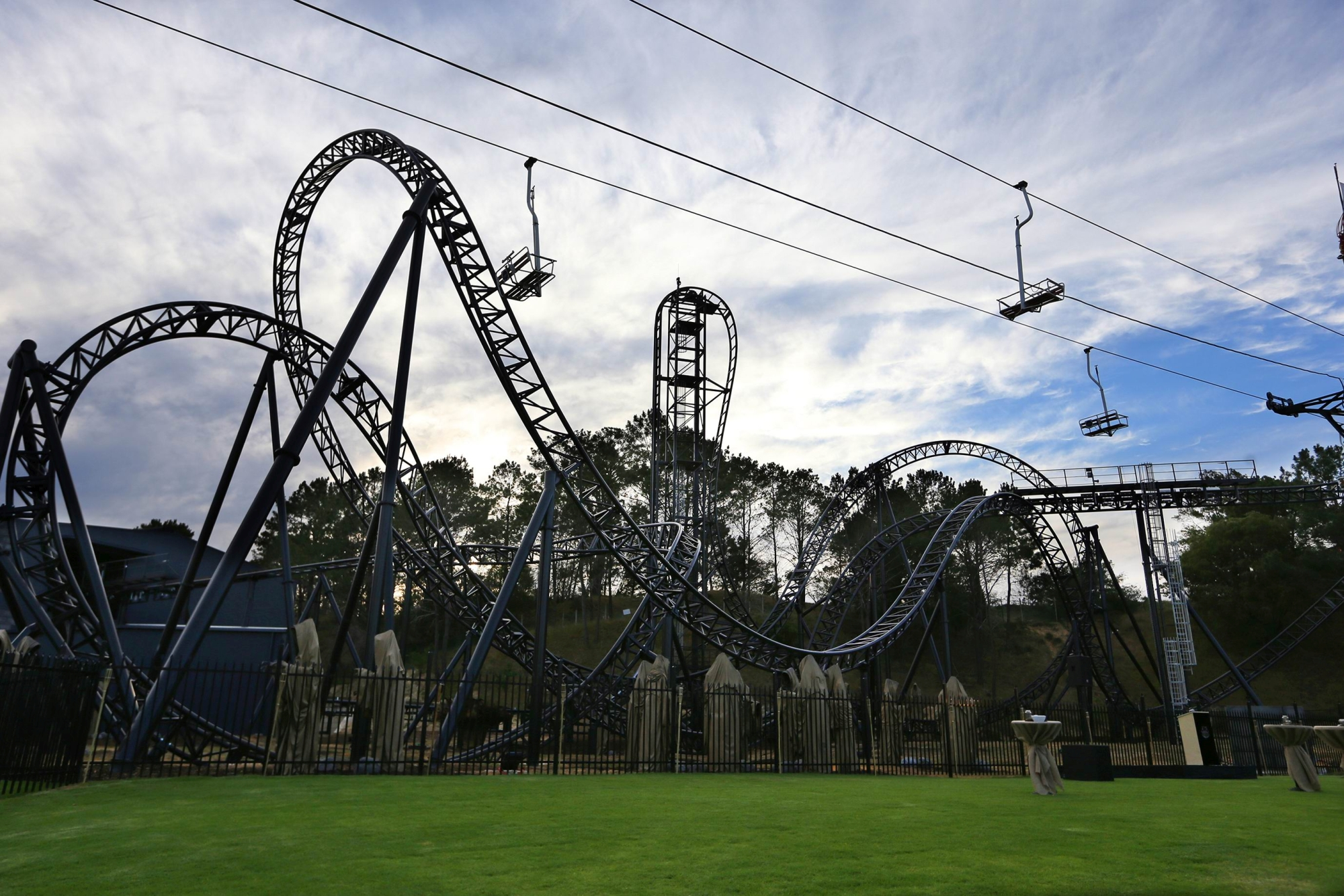 Abyss is the daunting new $12 million dollar rollercoaster ride at Adventure World.